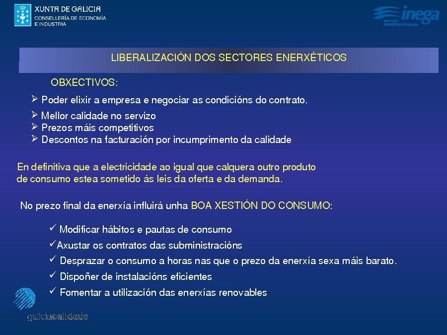 Presentación Emérito Freire Sambade. Instituto Enerxético de Galicia.